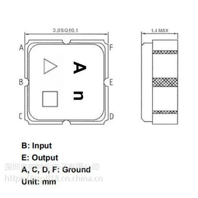 声表滤波器 TA1833A TST 2593MHz