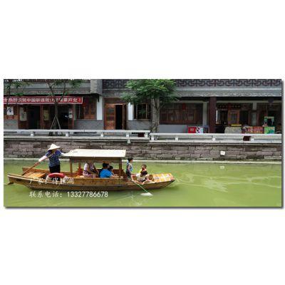 江苏浙江 南方木船厂家 直销中式旅游船 观光船 客船