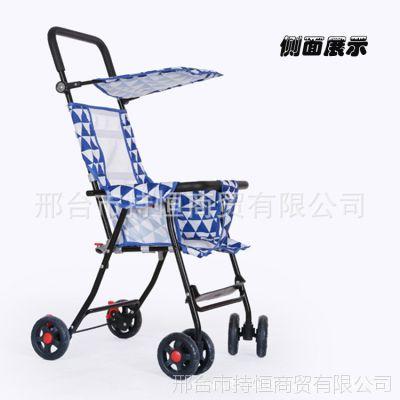 新款纱网透气儿童推车四合一婴儿推车多功能四轮婴童手推车滑板车
