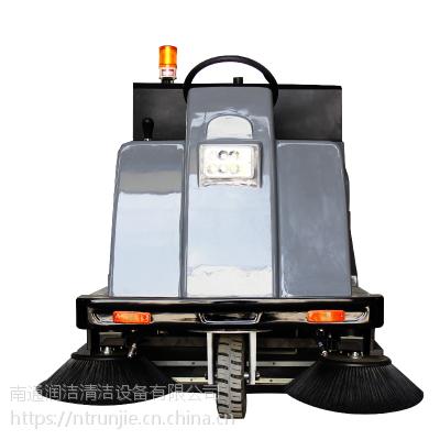 润洁电动驾驶式扫地机 车间仓库工厂物业环卫扫地车 带喷水扫地机RJ-S140P