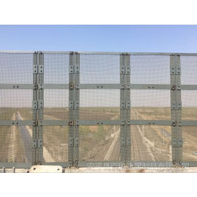 桥梁防抛网厂家-公路喷塑双圈防护网-桥梁防抛落物网