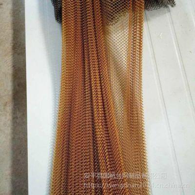 室内装饰铁丝网小孔勾编镀锌装饰帘子网不锈钢勾花网