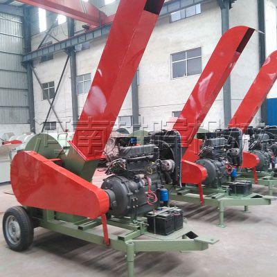 柴油式木渣机哪里有移动式柴油机耕晖中碎机