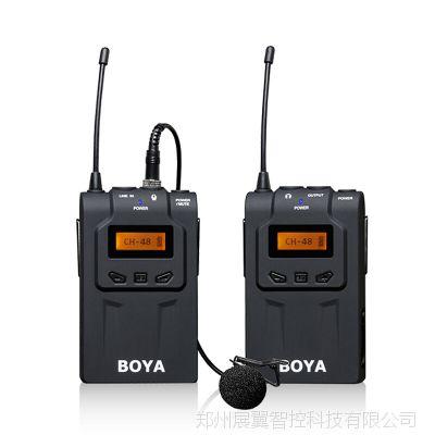 BOYA BY-WM6无线麦克风单反摄像机采访话筒手机直播微电影小蜜蜂
