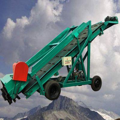 秸秆铡切取料机 苜蓿草料取料机 电动大型养殖取草机