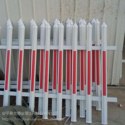 草坪锌钢护栏价格 PVC绿化带护栏 道路隔离栏