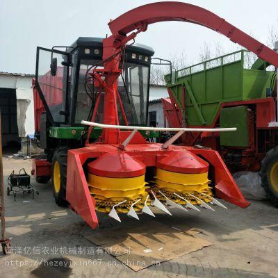 山东玉米秸秆高速转盘青储机厂家 自走式玉米牧草青储收割机