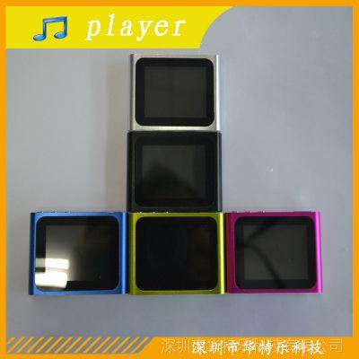 厂家供应MP4  插卡6代MP4  5p接口 支持TF卡 外单礼品 价格优势