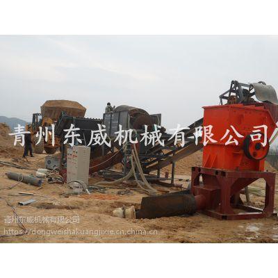 长沙配置齐全插电就可工作的破碎洗砂机