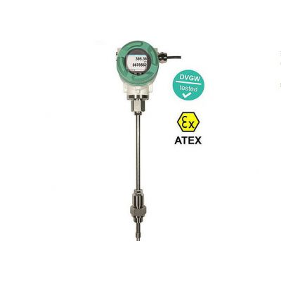 德国希尔思流量计 VA550空气流量计 插入热式质量流量计 管道流量计