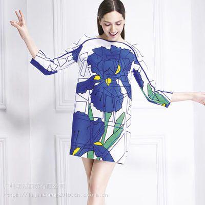 杭州一线女装品牌第一乐章正品尾货走份批发品牌折扣女装货源就在广州明浩