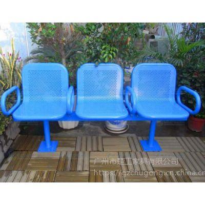 不锈钢户外休闲等候连排椅 公共候车机场椅报价
