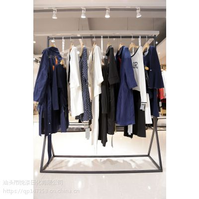 艾唯都北京衣服尾货批发市场在哪里进货折扣女装 尾货外套批发卡其色针织衫