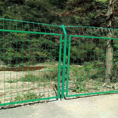 边框护栏网 铁网围栏框架护栏 焊接钢管隔离栅