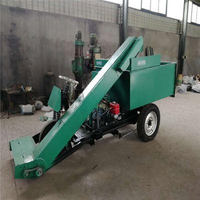 奶牛场粪便清洁车 清理粪便自动装卸清粪车 液压传动吸粪车