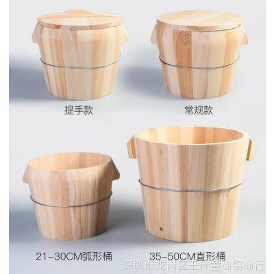 木制蒸饭桶格子云南糯米木桶饭加高大号小木木桶蒸饭桶超大蒸笼