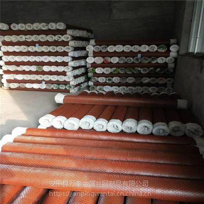 建筑灌浆用钢板网 镀锌小孔钢板网 防锈漆菱形拉伸网