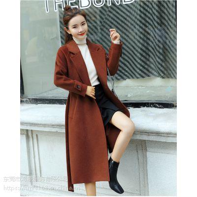 湖南湘潭服装批发市场便宜批发时尚版型女装毛呢外套质量好款式多批发价格超低欢迎联系了解拿货
