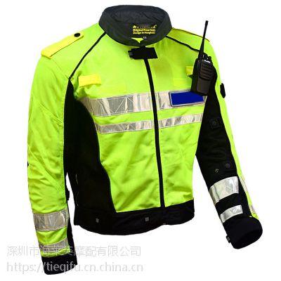 骑警骑行服防摔 铁骑服透气 交警骑行服 交警服 单警装备