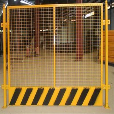 基坑临边护栏 安全警示网 电梯口防护网