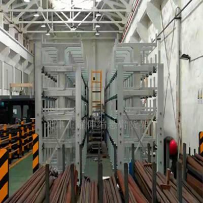 珠海重型管材存放货架 伸缩悬臂货架设计 放钢管专用