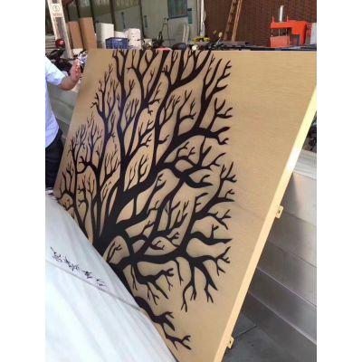 专做门头冲孔装饰铝板 镂空铝板定做工艺 广州雕刻铝单板生产厂家