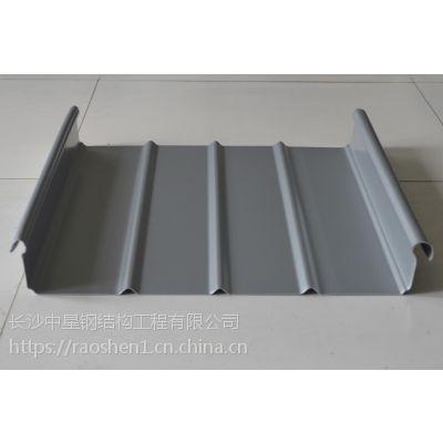供应湖南氟碳铝镁锰屋面板65波高400.430.500等型号