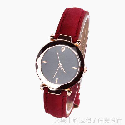微商热卖韩版时尚手表 热销绒带女士手表 简约款时尚女士手表
