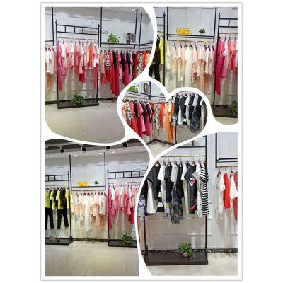 杭州品牌三彩女装夏装 服装折扣批发