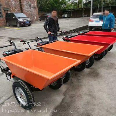 山东奔力制造 山地运输神器灰斗车 手推平板双轮货车