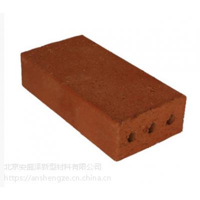 北京厂家烧结砖 烧结地砖 清水砖 陶土砖 陶瓷透水砖 清水墙砖
