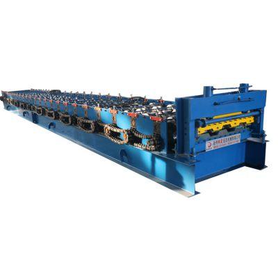 地鑫供应980楼承板机 定做各种型号楼面钢承板设备
