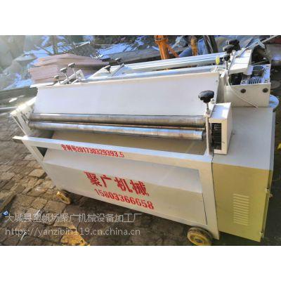 江苏铁皮保温校平剪板卷圆机 聚广机械剪网机 小型数控剪板机
