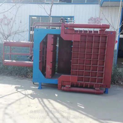 华晨江苏塑料袋压块机 安徽药材液压打包机 40吨打包机多少钱