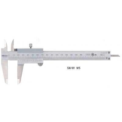 530 系列 — M 型标准卡尺 N