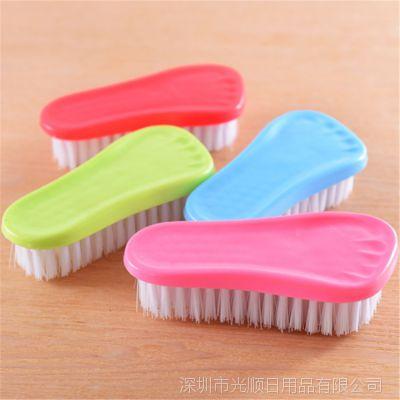 脚丫家务清洁洗衣刷鞋刷塑料软毛刷子多功能地板刷浴盆刷