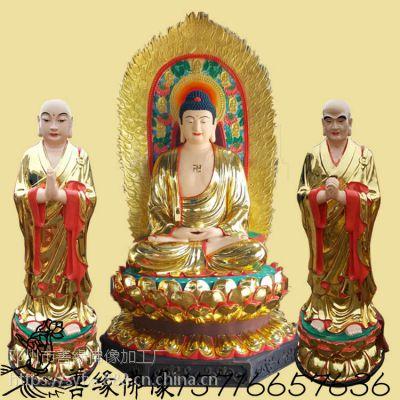 卧佛·释迦摩尼·如来佛祖彩绘贴金佛像玻璃钢树脂佛像厂直销