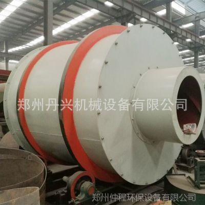 供应仲程新型三回程沙子烘干机 焦煤回转滚筒干燥机