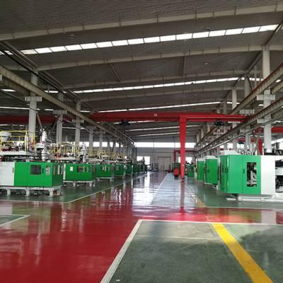 尿素溶液桶专用生产机器通佳双工位全自动吹塑机厂家