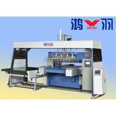 HY-D80自动机械手裁断机 吸塑厂专用、操作简单-自动裁断机