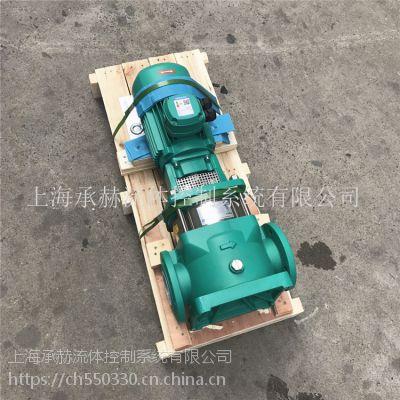 补水泵MVI1609/6-3/16/E/3-380-50-2立式不锈钢泵房增压泵组给水泵