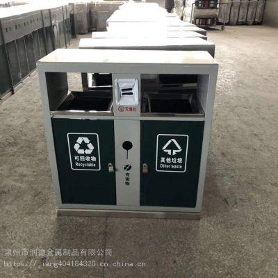 垃圾桶果皮箱小区分类垃圾箱 不锈钢户外环卫垃圾筒铁垃圾桶