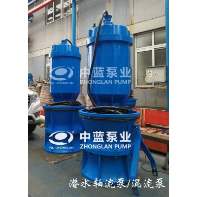 井筒式安装350QZB-50J轴流泵厂家