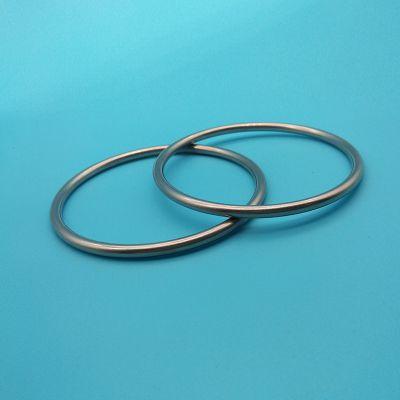 广东东莞无缝焊接铁圆环 35.5MM镀镍圆环定制 可出口