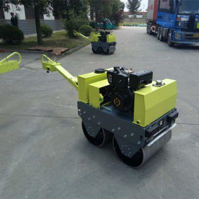 双钢轮压路机SVH-50C奔马压路机厂家手扶式轧道机