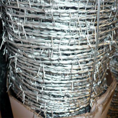 热镀锌刺绳 铁丝刺 带刺铁线厂家