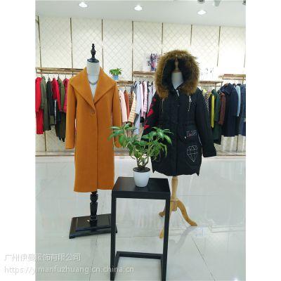 广州一线品牌索典秋冬装女装潮牌品牌折扣女装批发