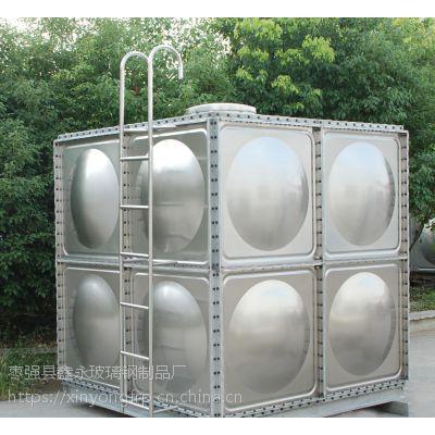 沁源县玻璃钢水箱 smc模压组合式抗腐蚀消防水箱 环保设施