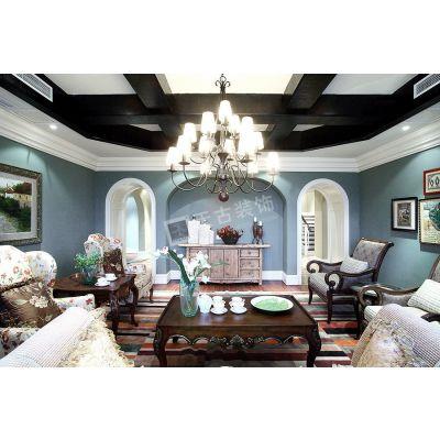 保利高尔夫装修,渝北天古装饰独栋别墅设计,意式独栋别墅完工实景图