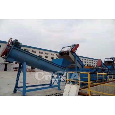 新疆农膜地膜废旧再生粉碎清洗处理生产线 柯达机械环保设备